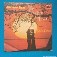 Discos de vinilo: JAMES LAST - THE SEDUCTION. Lote 128116839