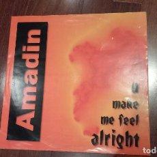 Discos de vinilo: AMADIN-U MAKE ME FEEL ALRIGHT.MAXI GERMANY. Lote 128119723