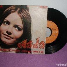 Discos de vinilo: NADA - CHE MALE FA LA GELOSIA + RITORNERA VICINO A ME / RCA VICTOR PROMO - AÑO 1970. Lote 128123603