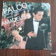 Discos de vinilo: FALCO-ROCK ME AMADEUS.MAXI ESPAÑA. Lote 128137423