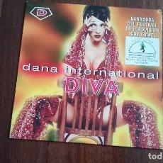 Discos de vinilo: DANA INTERNATIONAL-DIVA.MAXI ESPAÑA. Lote 128143619