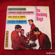 Discos de vinilo: THE ROCKING BOYS MULTIPLICACION Y 3 MAS BELTER 1962 BUEN SONIDO. Lote 128144171