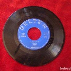 Discos de vinilo: THE ROCKING BOYS TELL LAURA I LOVE HER - TEMPORAL -TWIST A NAPOLI IMAN BELTER 1962 BUEN SONIDO. Lote 128145743