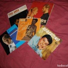 Discos de vinilo: LOTE 5 EPS ANKA-RAPHAEL-NINA FREDERIK-KITT-ROBERTINO EDICIONES ESPAÑOLAS 4 EDICION SWEDEN ROBERTIN0. Lote 128146339