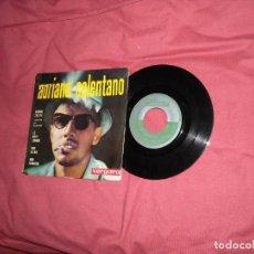Discos de vinilo: ADRIANO CELENTANO - SABADO TRISTE (EN ESPAÑOL) + 3 (EP 1963 ). Lote 128147023