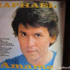 Discos de vinilo: RAPHAEL AMAME ( ARGENTINA ) COMO YO TE AMO // EN CARNE VIVA // QUE SABE NADIE // PROVOCACION //. Lote 128151851