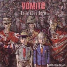 Discos de vinilo: VOMITO EN LA ZONA ZERO LP . PUNK ROCK ESKORBUTO LA POLLA RECORDS MCD RIP VULPES. Lote 128154739