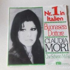 Discos de vinilo: CLAUDIA MORI BUONASERA DOTTORE ARIOLA 1975 ITALIA. Lote 128155023