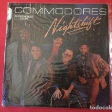 Discos de vinilo: COMMODORES – NIGHTSHIFT = TURNO DE NOCHE. Lote 128155407