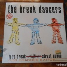 Discos de vinilo: DISCO DE THE BREAK DANCERS.. Lote 128160491