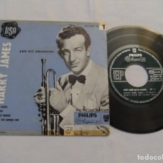 Discos de vinilo: HARRY JAMES - JACKPOT BLUES +3 (USA 1955). Lote 128162567