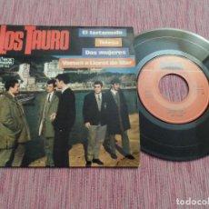 Discos de vinilo: LOS TAURO - EL TARTAMUDO +3. Lote 128162911
