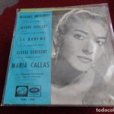 Discos de vinilo: MARÍA CALLAS. Lote 12587448