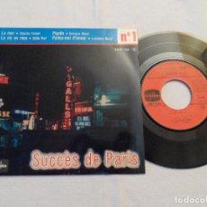 Discos de vinilo: SUCCÉS DE PARIS' Nº1 CHARLES TRENET LA MER. Lote 128164547