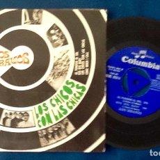 Discos de vinilo: LOS BRAVOS. LOS CHICOS CON LAS CHICAS. 1967. ENVIO INCLUIDO EN EL PRECIO.. Lote 128166947