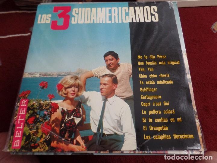 LOS TRES SUDAMERICANOS (Música - Discos - LP Vinilo - Grupos Españoles 50 y 60)