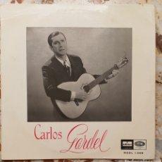 Discos de vinilo: 10 PULGADAS CARLOS GARDEL 1955. Lote 128172659