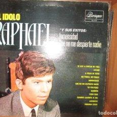 Discos de vinilo: EL IDOLO RAPHAEL ( PUERTO RICO ) LLEVAN // CADA CUAL // INMESIDAD // LAZARILLO // TU VOLVERAS //. Lote 128174503