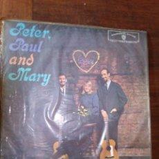Discos de vinilo: PETER, PAUL AND MARY1962 PETER, PAUL E MARY, PRIMER LP,EDICIÒN BRASIL. Lote 128175055