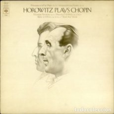 Discos de vinilo: HOROWITZ PLAYS CHOPIN - CBS. Lote 128175819