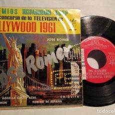 Discos de vinilo: JOSÉ ROMER EP 1961 AQUELLA CASITA AZUL . Lote 128177171