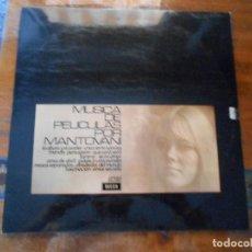 Discos de vinilo: DISCO DE MÚSICA DE PELÍCULAS POR MANTOVANI.. Lote 128180747