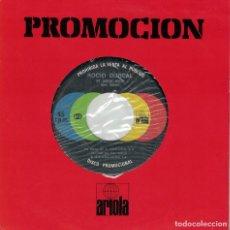 Discos de vinilo: ROCIO DURCAL - ME GUSTAS MUCHO / LA MUERTE DEL PALOMO (SINGLE PROMO ESPAÑOL, ARIOLA 1978). Lote 128210659