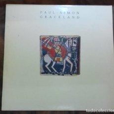 Discos de vinilo: PAUL SIMON - GRACELAND LP ED. ESPAÑOLA 1986. Lote 128218915