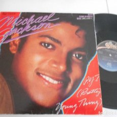 Discos de vinilo: MICHAEL JACKSON-MAXI P.Y.T PRETTY YOUNG THING- SPAIN 1984 . Lote 128226327