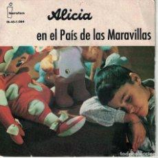 Discos de vinilo: ALICIA EN EL PAIS DE LAS MARAVILLAS-TEATRO INVISIBLE DE RADIO NACIONAL DE ESPAÑA DE BARCELONA. Lote 128226655