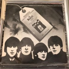 Discos de vinilo: EP THE BEATLES PRIMERA CONVENCION EUROPEA FANS VALENCIA NUMERADO MEGARARE 1981 MEGARARO. Lote 128229474