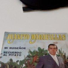 Discos de vinilo: BAL-4 DISCO CHICO 7 PULGADAS JUANITO MARAVILLAS MI RUISEÑOR. Lote 128232939