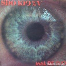 Discos de vinilo: S.D.O. 100% VEGETAL MAL DE OJO LP . HARDCORE HIP HOP CROSSOVER PENNYWISE. Lote 128234211