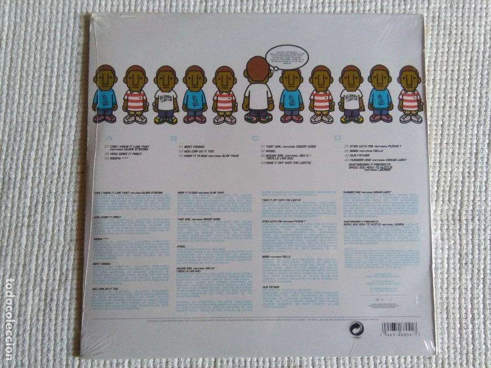 Discos de vinilo: PHARRELL WILLIAMS - IN MY MIND 2 LP ORIGINAL EU 2006 SEALED - Foto 2 - 128239151