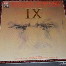 Discos de vinilo: BEETHOVEN - 9ª SINFONIA - IX SIMPHONIE - OTTO KLEMPERER - EMI - LUDWIG - HOTTER. Lote 128246975