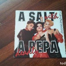 Discos de vinilo: A SALT WITH A PEPA-DEADLY.LP ESPAÑA. Lote 128249667