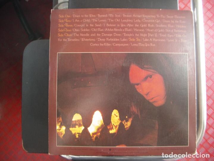 Discos de vinilo: NEIL YOUNG- DECADE. TRIPLE LP. - Foto 2 - 128249803