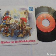 Discos de vinilo: DAS MÄRCHEN VON DEN WICHTELMÄNNERN. Lote 128258047