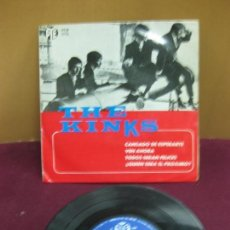 Discos de vinilo: THE KINKS. SET ME FREE. PYE RECORDS. PYEP 2083. EP. 1965.. Lote 128259011