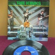 Discos de vinilo: THE KINKS. HASTA QUE TERMINE EL DIA. HISPAVOX 337-22. EP.. Lote 128259867