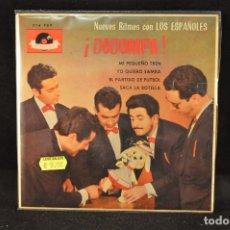 Discos de vinilo: LOS ESPAÑOLES - MI PEQUEÑO TREN +3 - EP. Lote 128261791