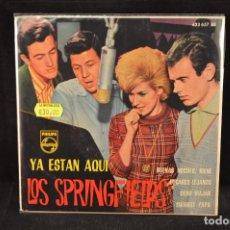 Discos de vinilo: LOS SPRINGFIELDS - GOODNIGHT IRENE (BUENAS NOCHES IRENE) +3 - EP. Lote 128262003