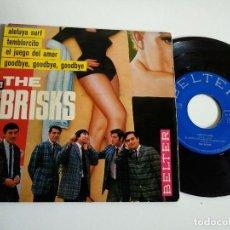 Discos de vinilo: EP-THE BRISKS-ALELUYA SURF-1965-SPAIN-. Lote 128262959
