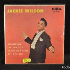 Discos de vinilo: JACKIE WILSON - SHAKE SHAKE SHAKE! +3 - EP. Lote 128263423