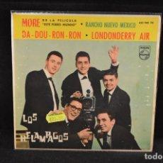 Discos de vinilo: LOS RELAMPAGOS - MORE +3 - EP. Lote 128264083