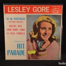 Discos de vinilo: LESLEY GORE - NO ME PERTENECES +3 - EP. Lote 128266107