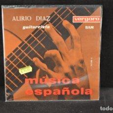 Discos de vinilo: ALIRIO DIAZ - MUSICA ESPAÑOLA - EP. Lote 128267651