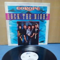 Discos de vinilo: EUROPE - ROCK THE NIGHT 1985 UK. Lote 128268088