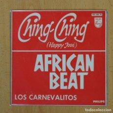 Discos de vinilo: LOS CARNEVALITOS - CHING-CHING + 3 - EP. Lote 128270156