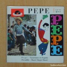 Discos de vinilo: PEPE - PEPE + 3 - EP. Lote 128270327